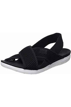 FitFlop Women's Airmesh Sling Back Sandals, ( 001)
