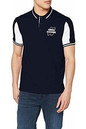 Armani Men's Hashtag Logo Polo Shirt
