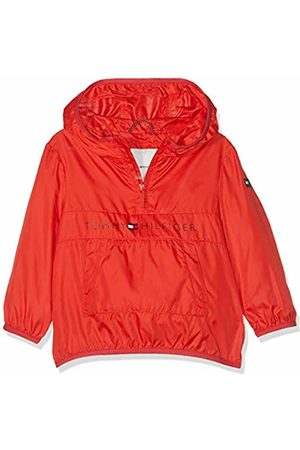 Tommy Hilfiger Baby Unisex Pop-Over Jacket (Flame Scarlet 633)