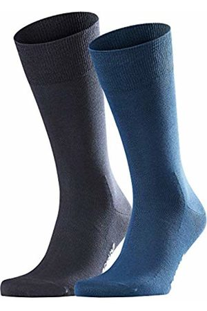 Falke Men Cool 24/7 2-Pack socks, 2 pairs, UK size 5.5-6.5 (EU 39-40), , cotton mix - Cooling effect, ideal for summer