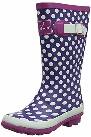 Lunar Girls Dotty Junior Wellingtons 11 UK Child