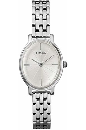 Timex Womens Analogue Classic Quartz Watch with Stainless Steel Strap TW2R93900