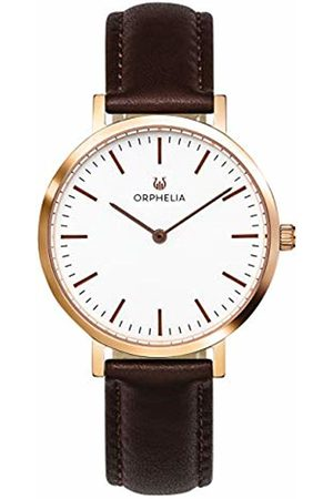 ORPHELIA Womens Analogue Classic Quartz Watch with Leather Strap OR11804