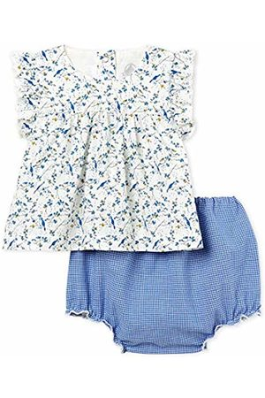 Petit Bateau Baby Girls Lot X3 BOD Clothing Set