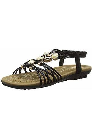 Lotus Women's Marci Open Toe Sandals, ( BBK)