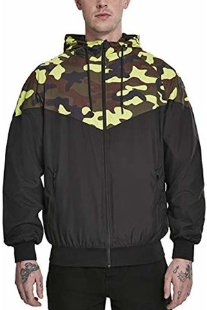 Urban classics Men's Pattern Arrow Windrunner Jacket