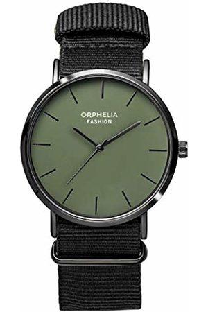 ORPHELIA Mens Analogue Classic Quartz Watch with Nylon Strap OF761810