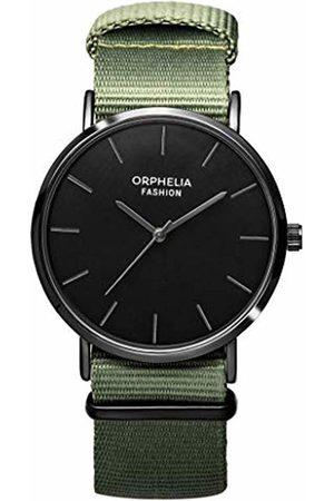 ORPHELIA Mens Analogue Classic Quartz Watch with Nylon Strap OF761811