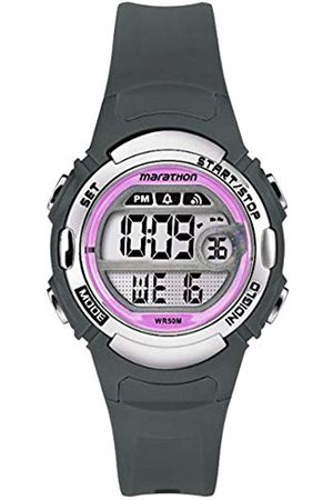 Timex Womens Digital Quartz Watch with Plastic Strap TW5M14200