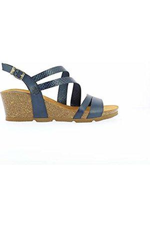 Yokono Women's Cadiz-087 Vaq/vaq.serp Open Toe Sandals (Marino 006) 3 UK