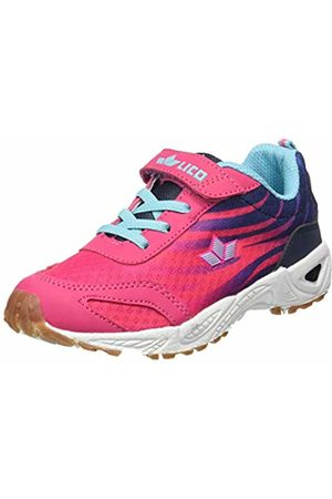 LICO Girls' Ben VS Multisport Indoor Shoes /Marine/Türkis