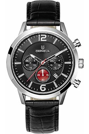 ORPHELIA Mens Chronograph Quartz Watch with Leather Strap OR81802