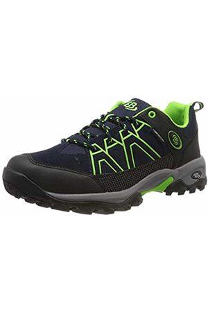 Bruetting Unisex Adults' Mount Cornwell Low Rise Hiking Boots, Blau Marine/Schwarz/Grün