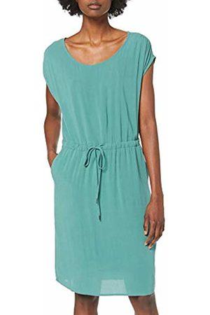 Object Women's Objbay Dallas S/s Dress Noos Spruce