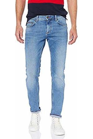 Tommy Hilfiger Men's Slim Bleecker STR Cheviot Jeans, Blau 911