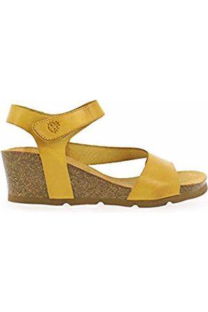 Yokono Women's Cadiz 098 Vaquetilla Open Toe Sandals (Mostaza 007) 5.5 UK
