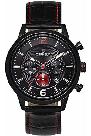 ORPHELIA Mens Chronograph Quartz Watch with Leather Strap OR81803