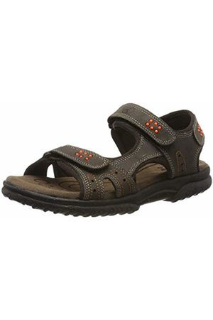 LICO Sandals - Unisex Adults' Tellaro V Sling Back Sandals Braun