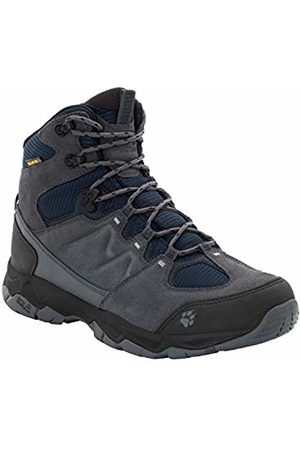 Jack Wolfskin Men's MTN Attack 6 Texapore Mid M Wasserdicht High Rise Hiking Shoes, (Night 1010)
