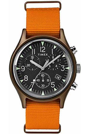 Timex Mens Chronograph Quartz Watch with Nylon Strap TW2T10600