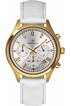 ORPHELIA Womens Chronograph Quartz Watch with Leather Strap OR31803