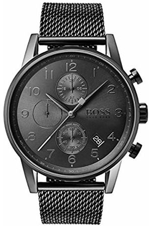 HUGO BOSS Mens Chronograph Quartz Watch with Stainless Steel Strap 1513674
