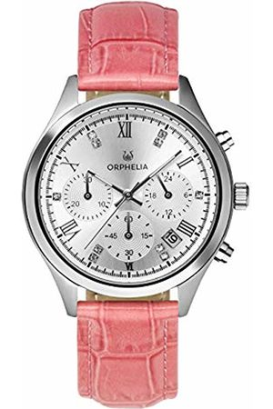 ORPHELIA Womens Chronograph Quartz Watch with Leather Strap OR31801