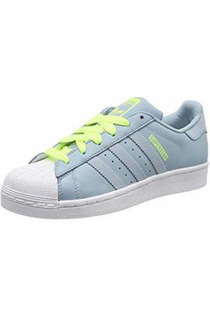 adidas Unisex Kids' Superstar J Gymnastics Shoes, Ash S18/Ash S18/Hi/Res