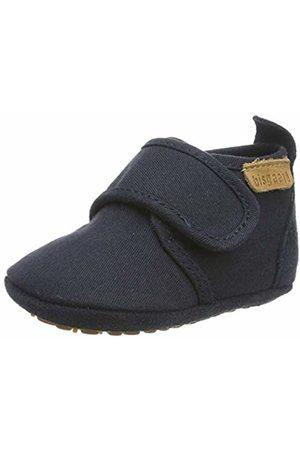 Bisgaard Baby Boys' Home Shoe -Cotton Slippers Blau (Navy 21) 6 Child UK