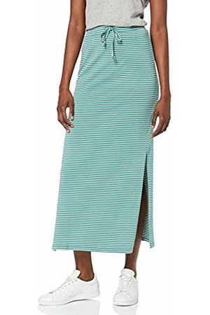 Object Women's Objstephanie Maxi Skirt Noos ( Spruce Stripes)