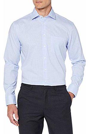 Seidensticker Men's Modern Langarm Mit Kent Kragen Bügelfrei Kariert Formal Shirt