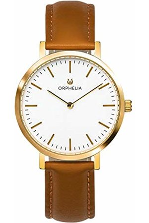 ORPHELIA Womens Analogue Classic Quartz Watch with Leather Strap OR11802