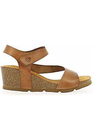 Yokono Women's Cadiz 098 Vaquetilla Open Toe Sandals (Nuez 002) 3 UK