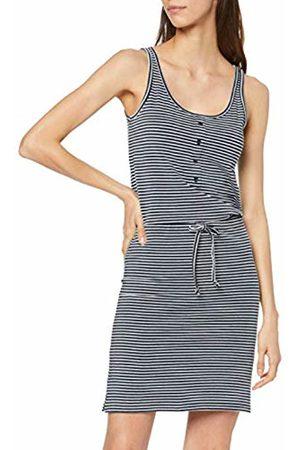 Object Women's Objstephanie S/l Short Dress Noos (Sky Captain Stripes)