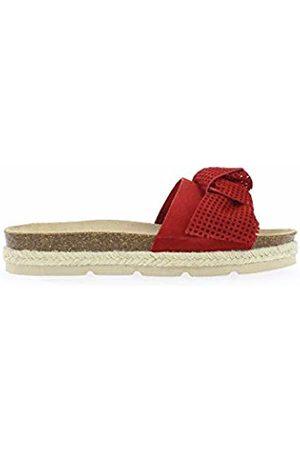 Yokono Women's Java 062 Serraje Open Toe Sandals (Rojo 005) 6 UK