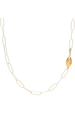 Alighieri Women Necklaces - L'Incognito 24kt -plated necklace