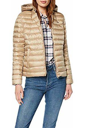 Tommy Hilfiger Women's TH Essential LW DWN Pack JKT Jacket Grau (Medium Taupe 055) XL