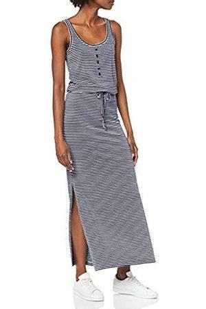 Object Women's Objstephanie Maxi Dress Noos Stripes: Sky Captain with