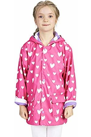 Hatley Girl's Printed Raincoats (Colour Changing Sweethearts 650)