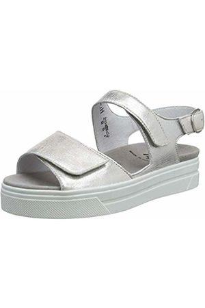 Semler Women's's Anna Ankle Strap Sandals Rot (Puder 020)