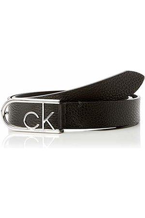 Calvin Klein Women's 2.5cm Ck Round Buckle Belt