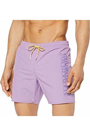 Napapijri Men's Varco Swim Trunks (Orchid Violet V26) XX-Large