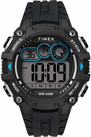 Timex Mens Digital Watch with Silicone Strap TW5M27300