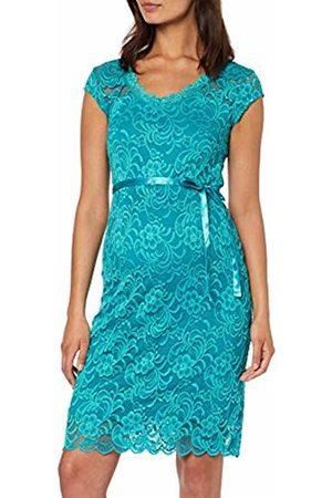 Mama Licious Women's Mlnewmivana Cap Jersey Dress A. Turquoise Biscay Bay