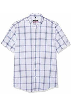 Seidensticker Men's Modern Kurzarm Mit Button-Down Kragen Bügelfrei Kariert Formal Shirt
