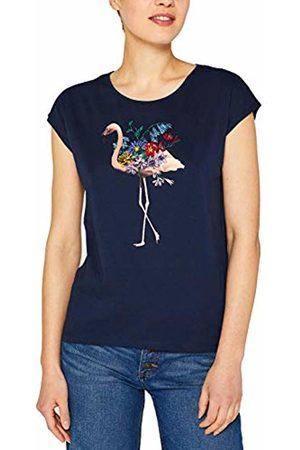 Esprit Women's 049CC1K030 T - Shirt (Navy 400) Large