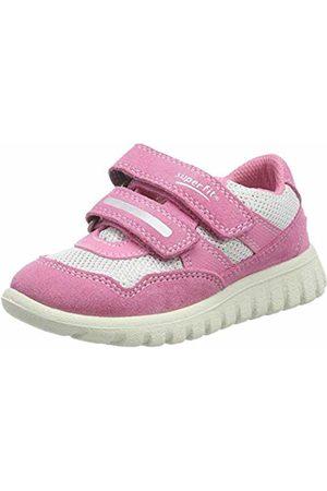 Superfit Baby Girls' Sport7 Mini Low-Top Sneakers (Rosa/Weiss 55) 7.5 UK