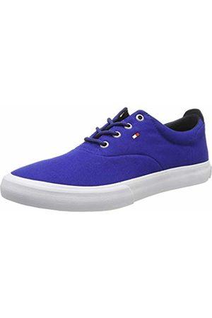 Tommy Hilfiger Men's Core Thick Textile Sneaker Low-Top (Mazarine 440) 10 UK