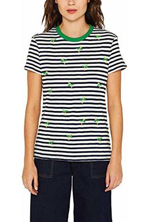 edc by Esprit Women T-shirts - Women's 049CC1K027 T - Shirt (Navy 400) M