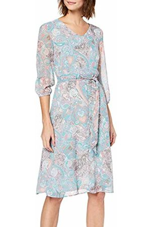 More & More Women's Kleid Dress (Multicolor Milky Rose 4821) 10 (Size: 36)